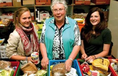 Vrijwilligers van de Voedselbank Geldrop