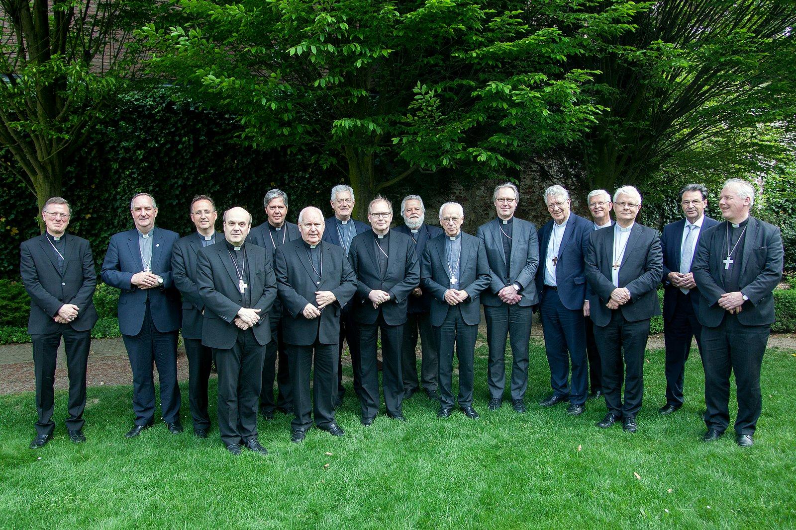Nederlandse en Vlaamse bisschoppen