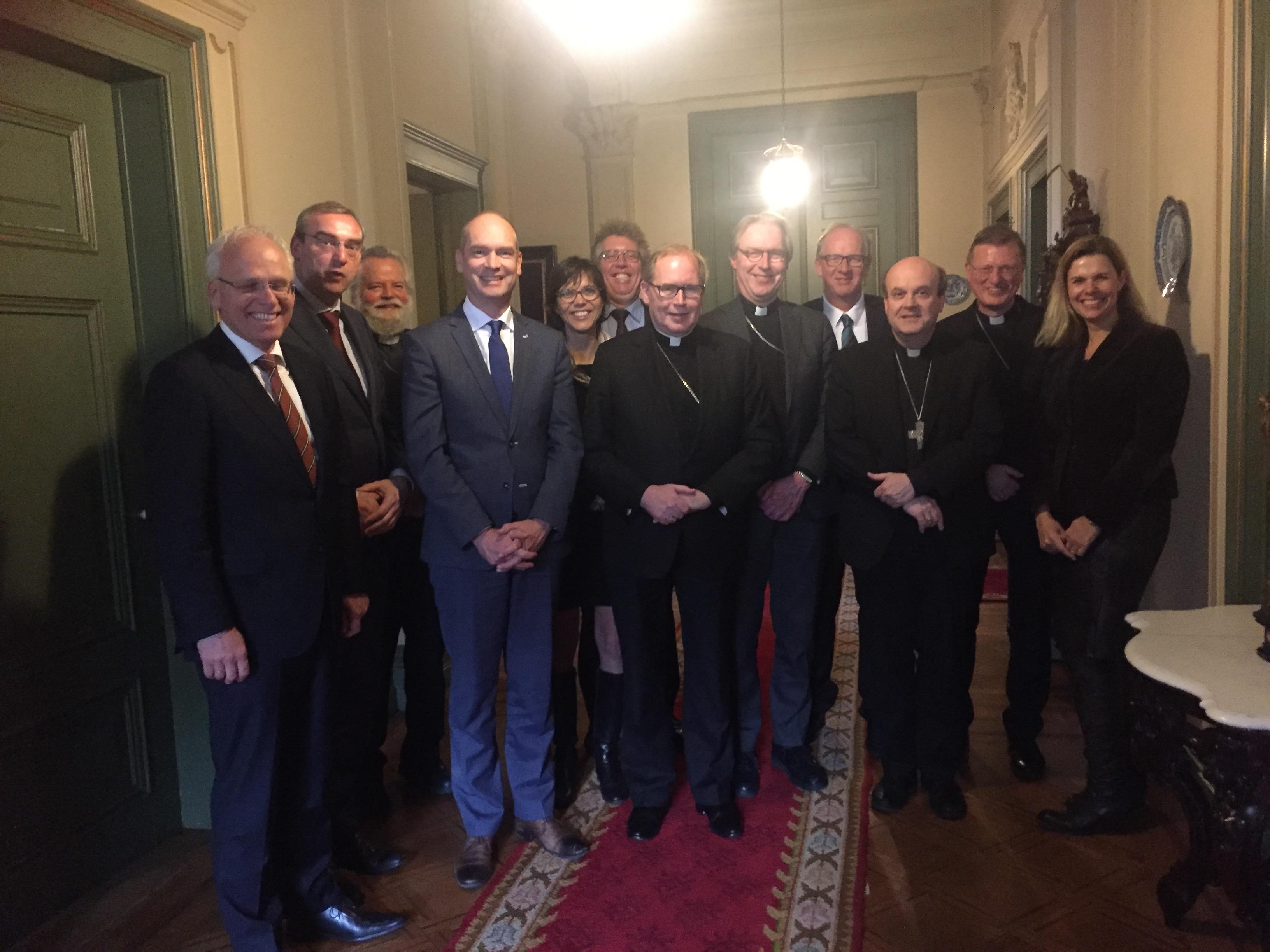 bisschoppen ontmoeten CU