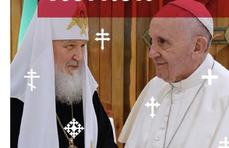 Magazine cover paus en patriarch