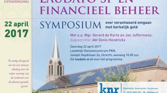 Bisschop De Korte spreekt op symposium 'Laudato si' en financieel beheer'