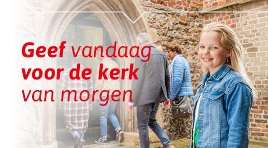 Campagnedatum Actie Kerkbalans januari 2022 bekend